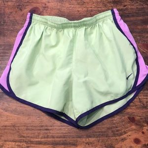 EUC Nike DriFit Tempo Shorts sz Large (girls)